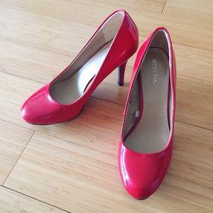 Red cute heel